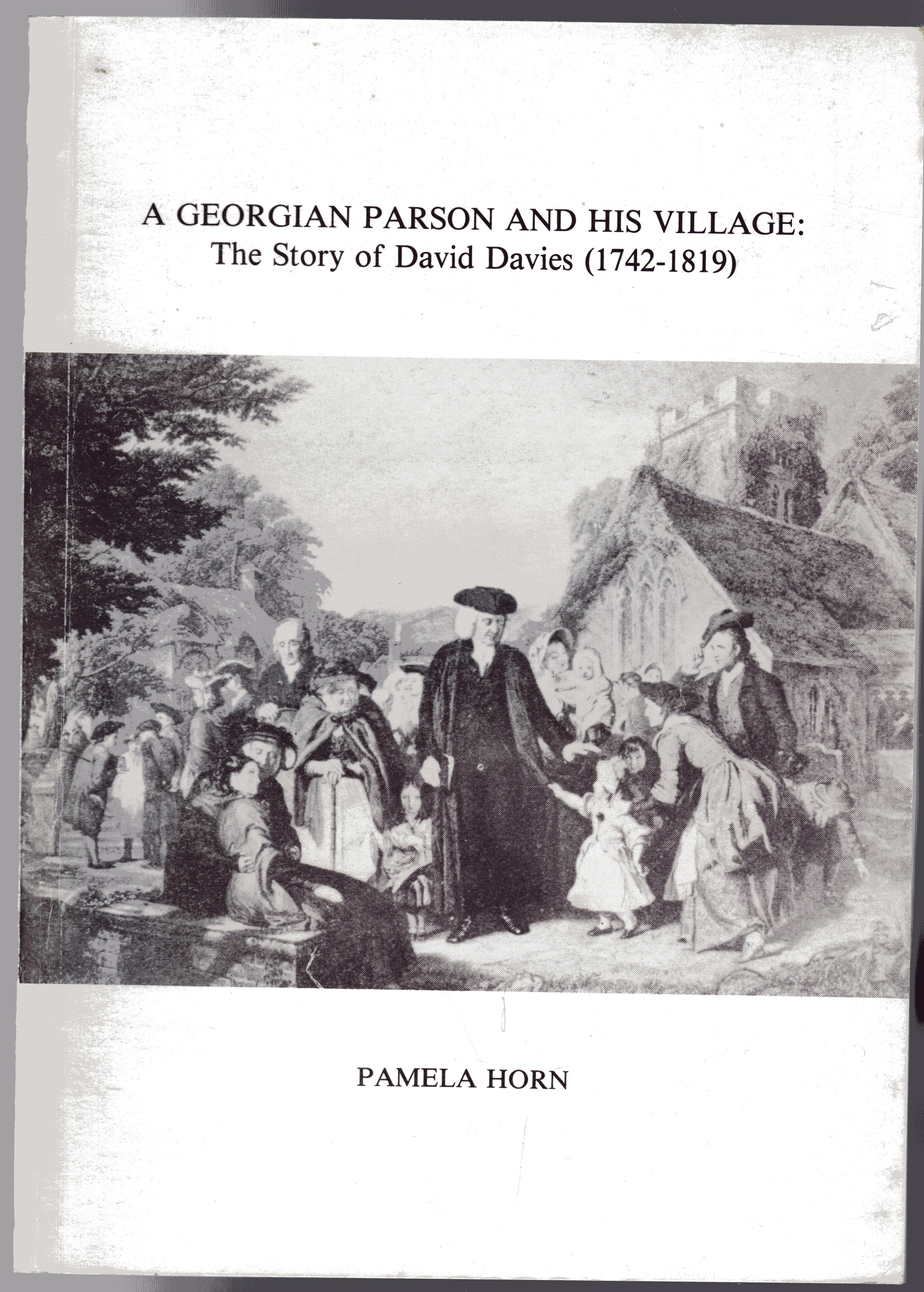 Image for A Georgian Parson and His Village - The Story of David Davies (1742-1819)