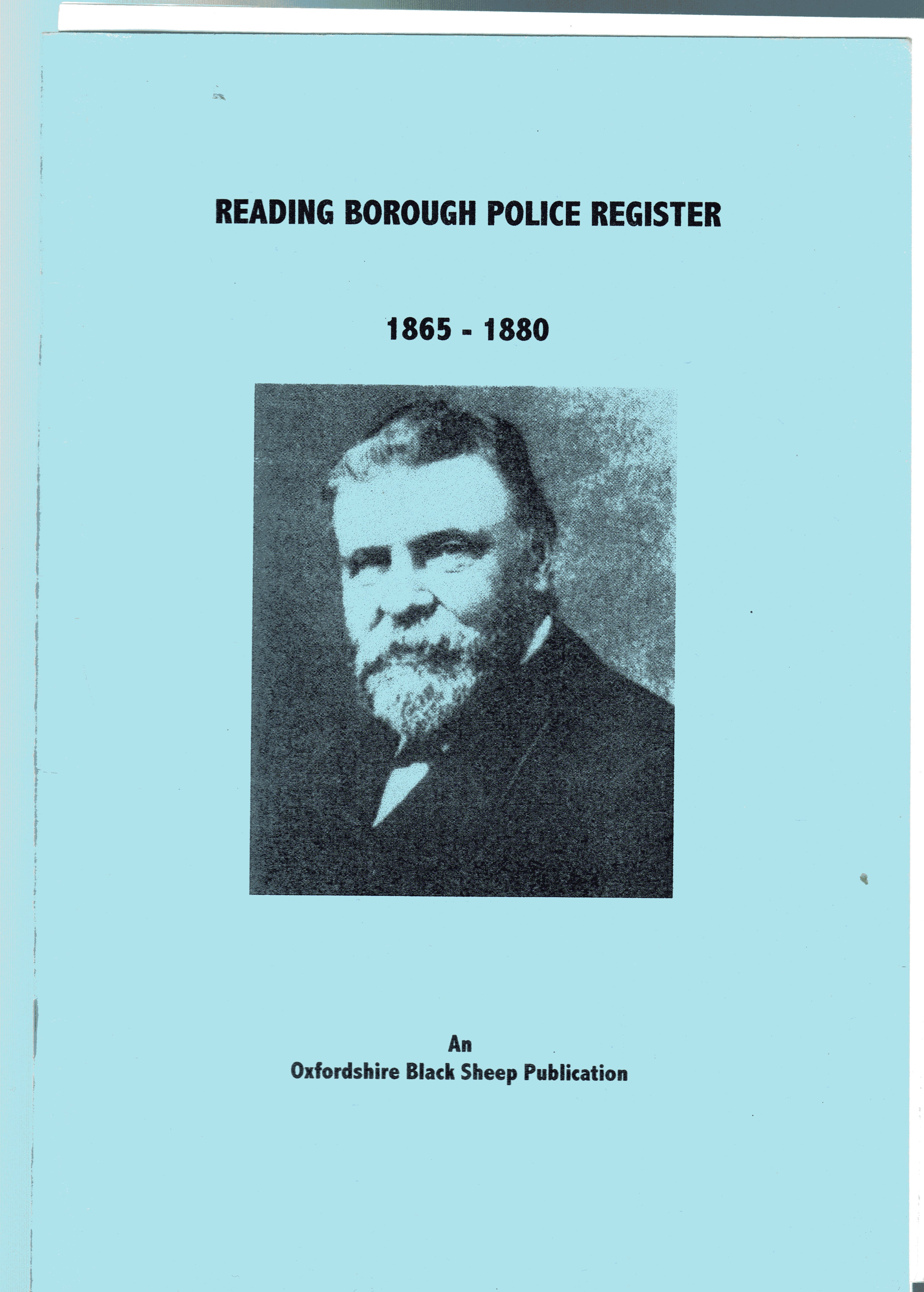 Image for Reading Borough Police Register : 1865-1880