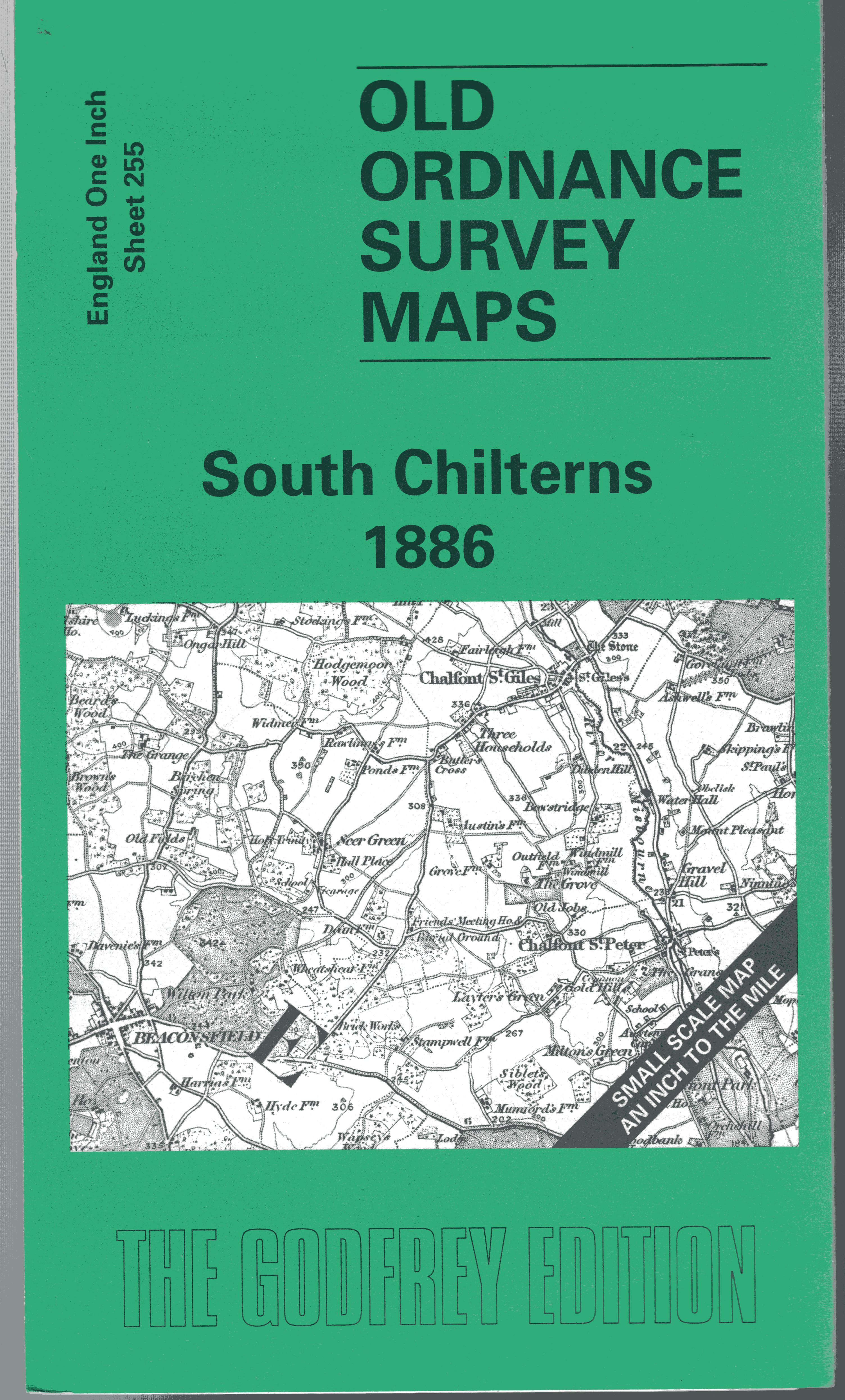 Image for South Chilterns 1886: One Inch Map 255 (Old Ordnance Survey Maps of England & Wales)