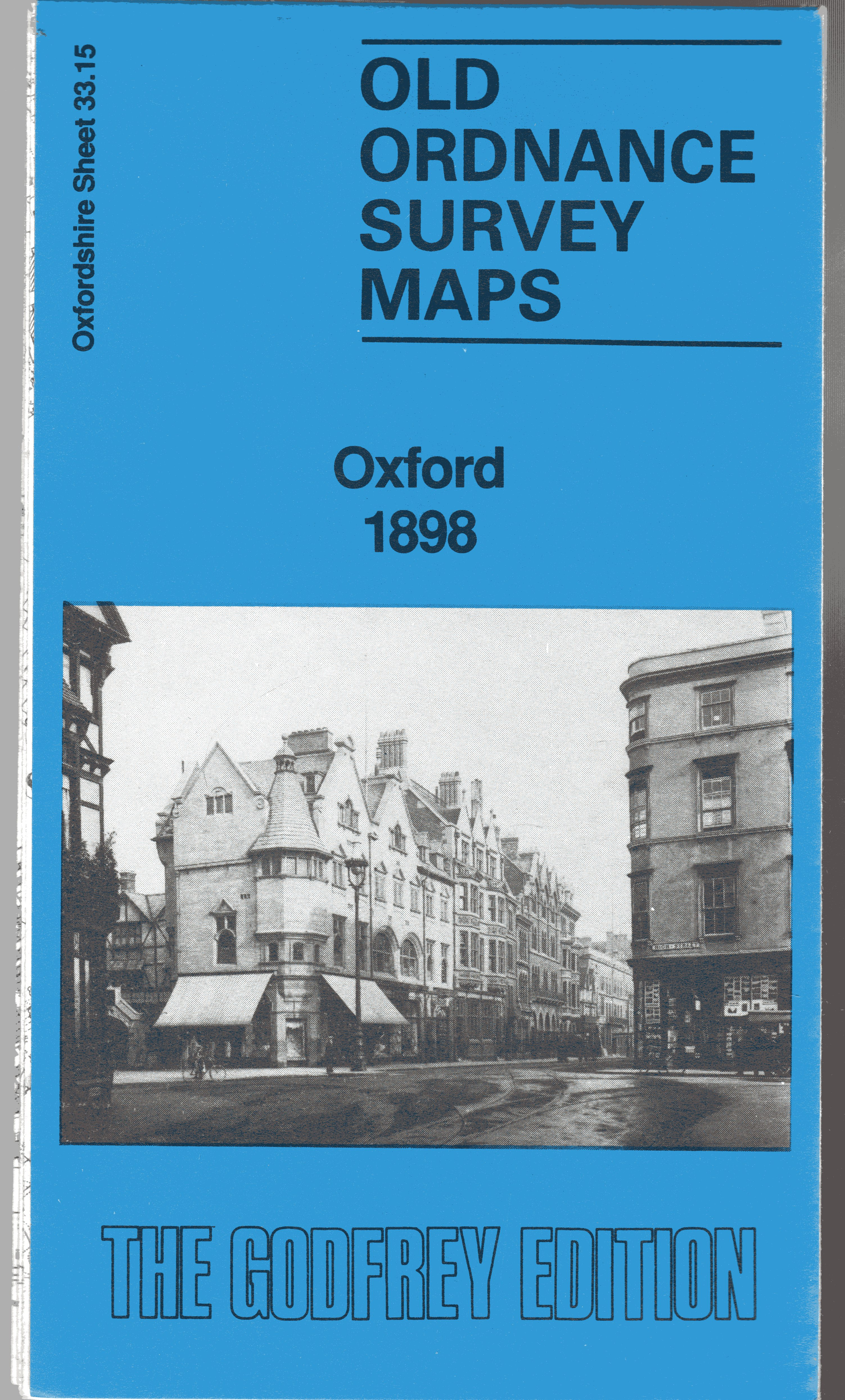 Image for Old Ordnance Survey Maps: Oxford, 1898