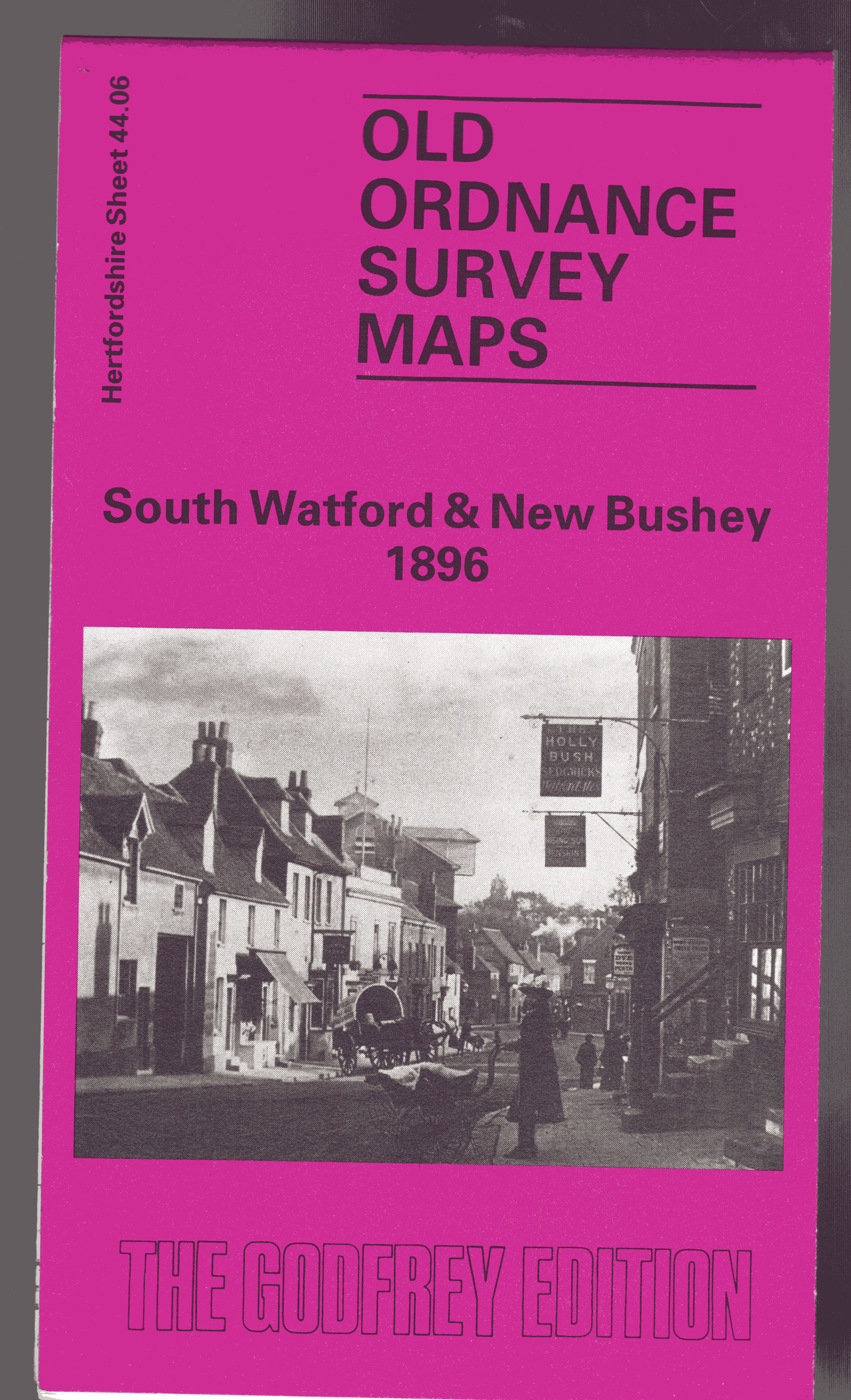 Image for South Watford and New Bushey 1896: Hertfordshire Sheet 44.06 (Old O.S. Maps of Hertfordshire)
