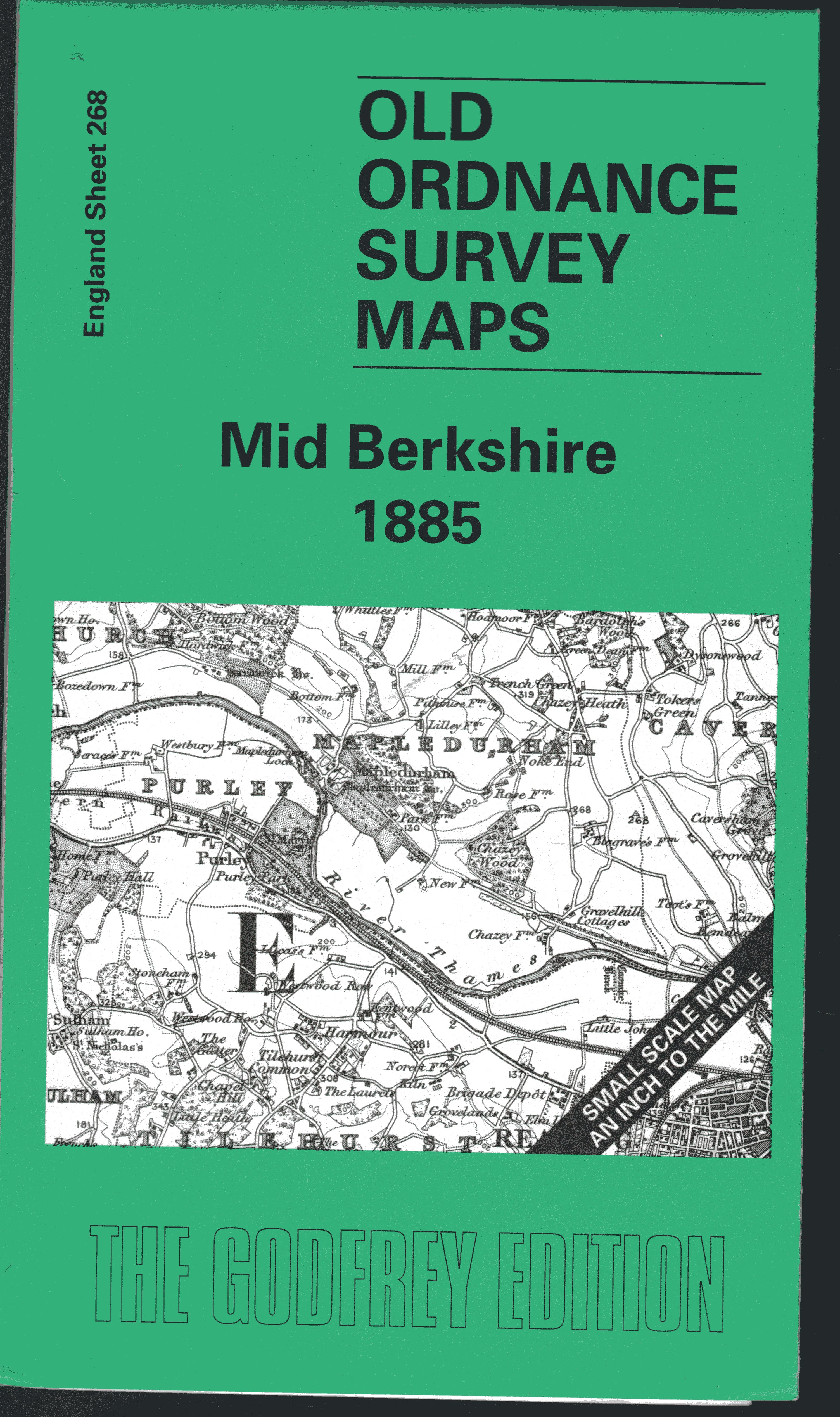 Image for Mid Berkshire 1885: One Inch Map 268 (Old Ordnance Survey Maps of England & Wales)