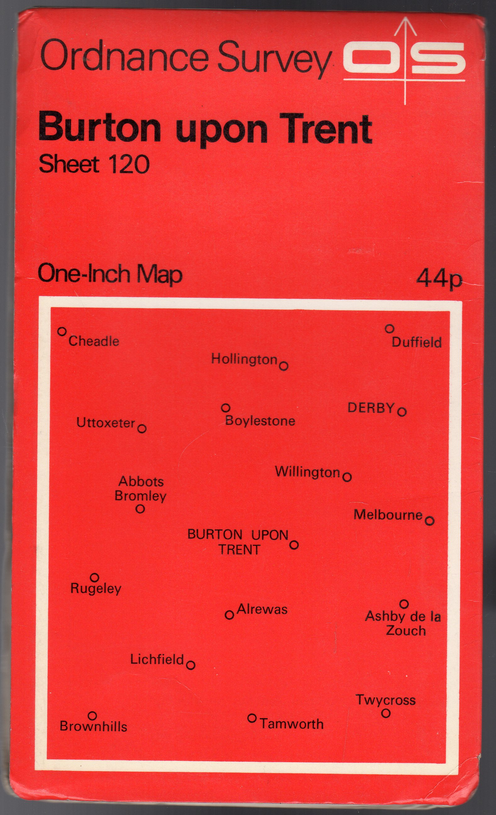 Image for Ordnance Survey  One-Inch Map of Great Britain Sheet  120 Burton Upon Trent