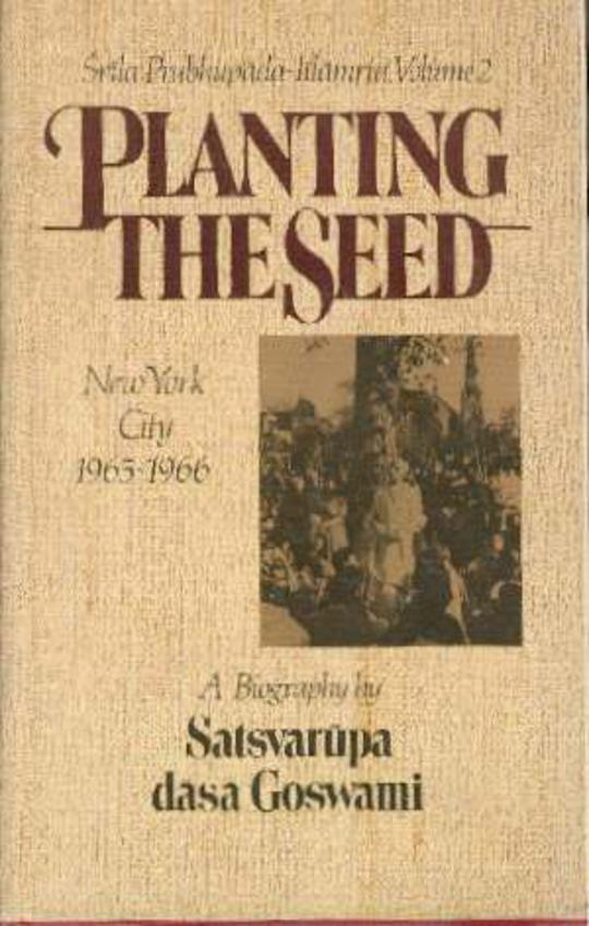 Image for Planting the Seed - New York City 1965-1966
