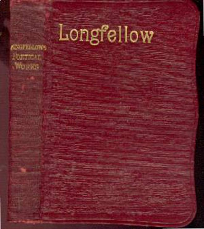 Image for The Poetical Works of Henry Wadsworth Longfellow