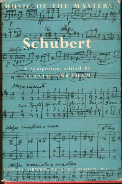 Image for Schubert; A Symposium