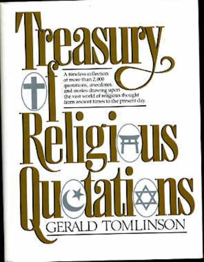 Image for Treasury of Religious Quotations