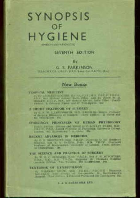 Image for Synopsis of Hygiene