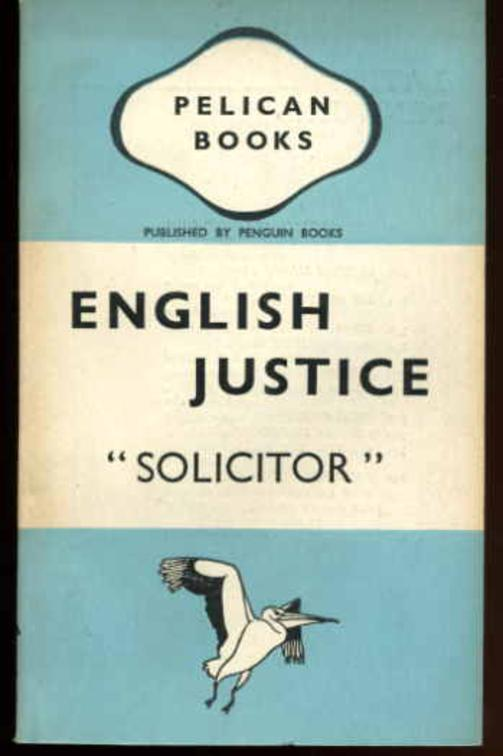 Image for English Justice