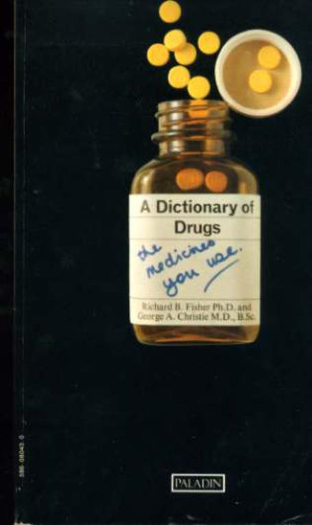 Image for A Dictionary Of Drugs