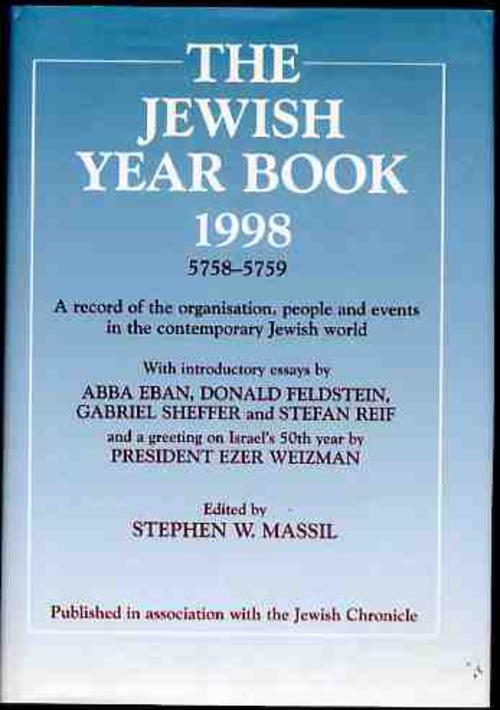 Image for The Jewish Year Book 1998