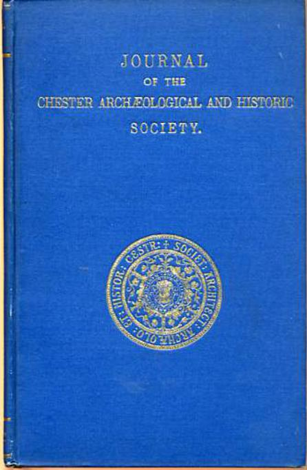 Image for Journal of the Chester and North Wales Architectural Archaeological and Historic Society
