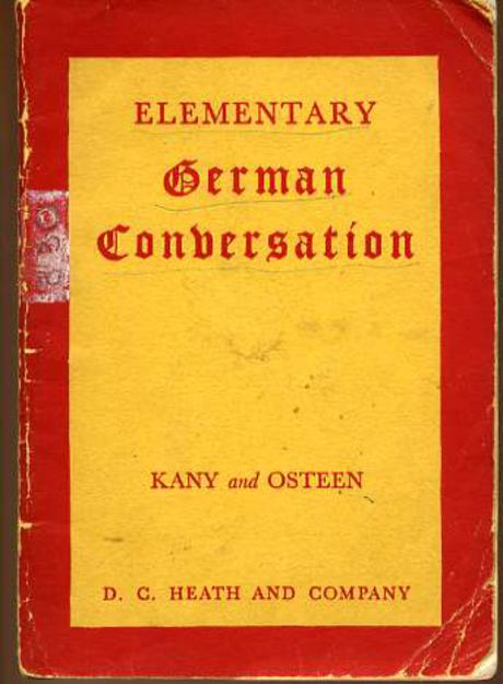 Image for Elementary German Conversation