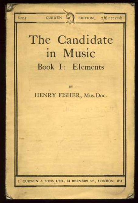 Image for The Candidate in Music Book 1 : Elements