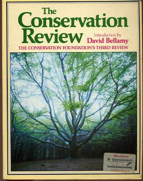 Image for The Conservation Review - The Conservation Foundation's Third Review