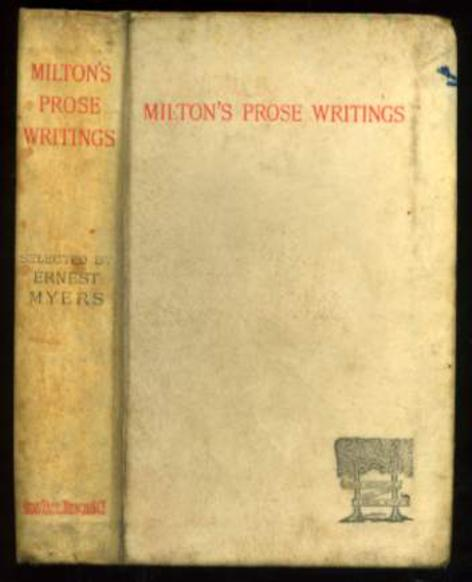 Image for Selected Prose Writings of John Milton