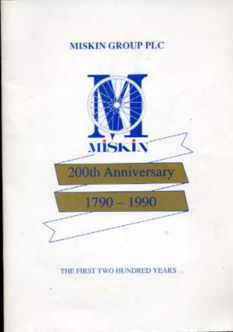 Image for Miskin Group Plc : 200th. Anniversary 1790-1990