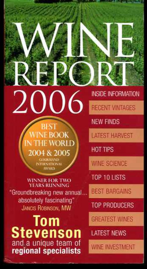 Image for Wine Report 2006