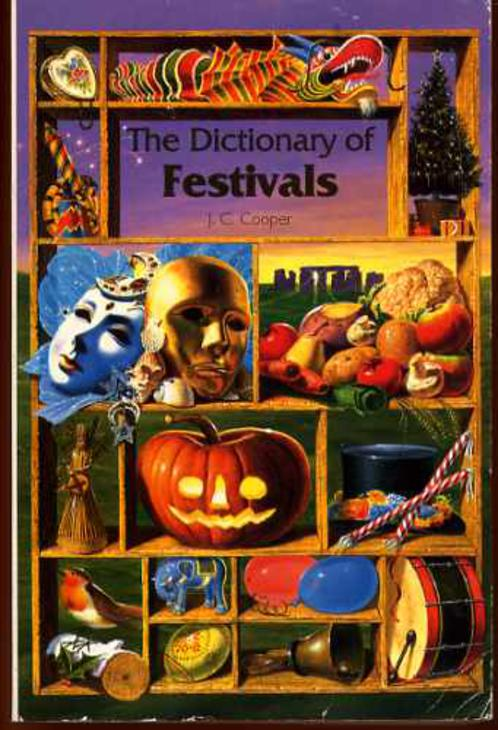 Image for The Dictionary of Festivals