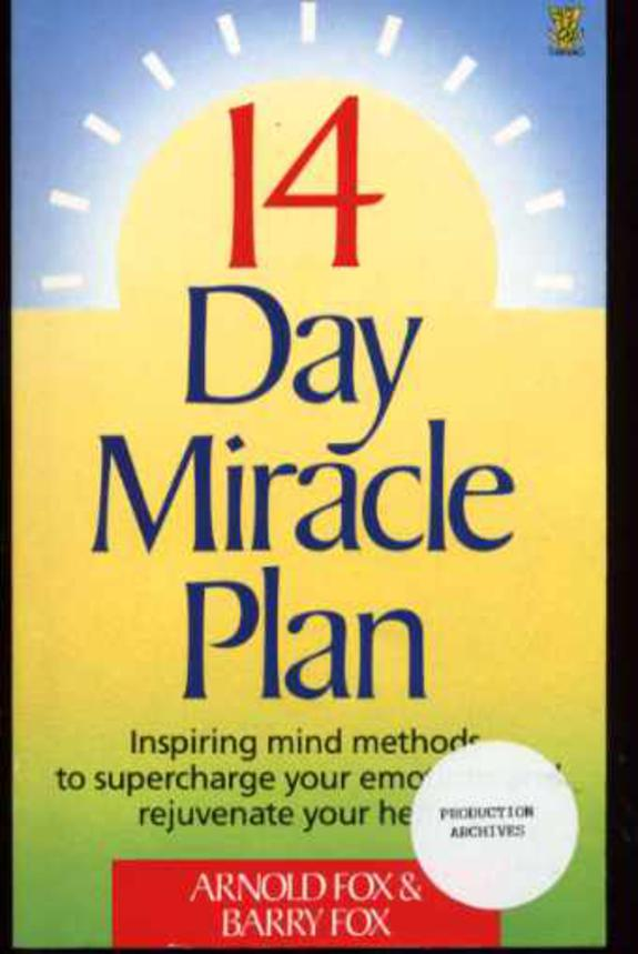 Image for 14 Day  Miracle Plan
