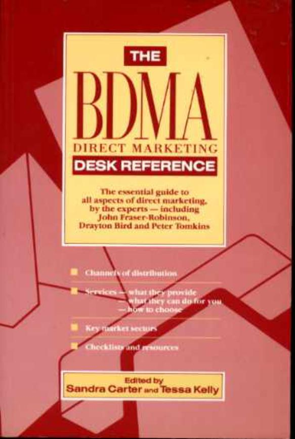 Image for The BDMA Direct Marketing Desk Reference