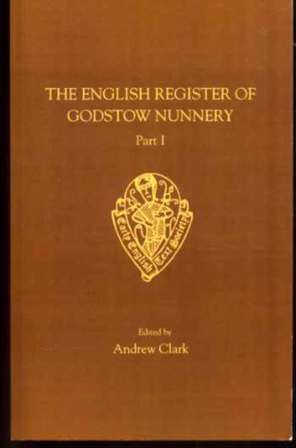 Image for The English Register of Godstow Nunnery  : Part 1
