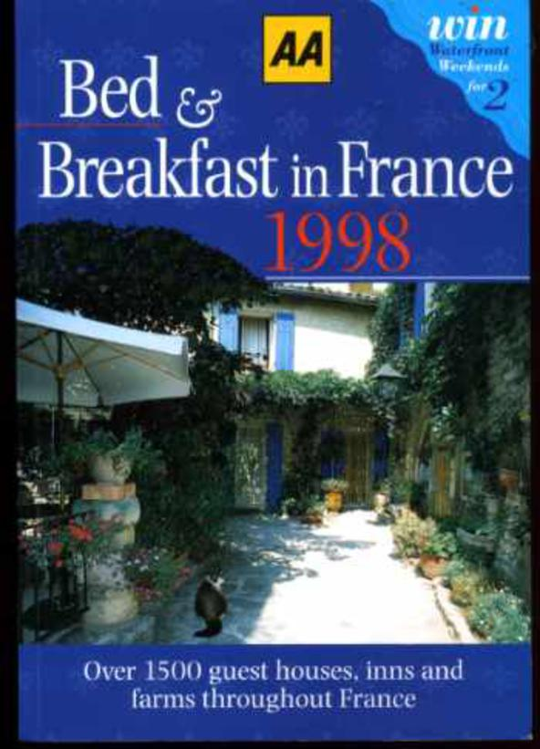 Image for Bed and Breakfast in France : 1998