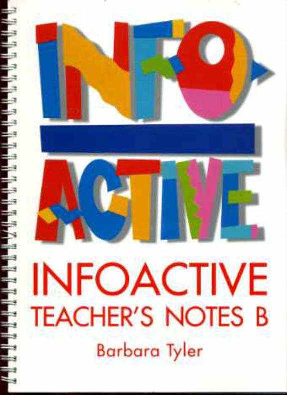 Image for Infoactive: Teacher's Notes B