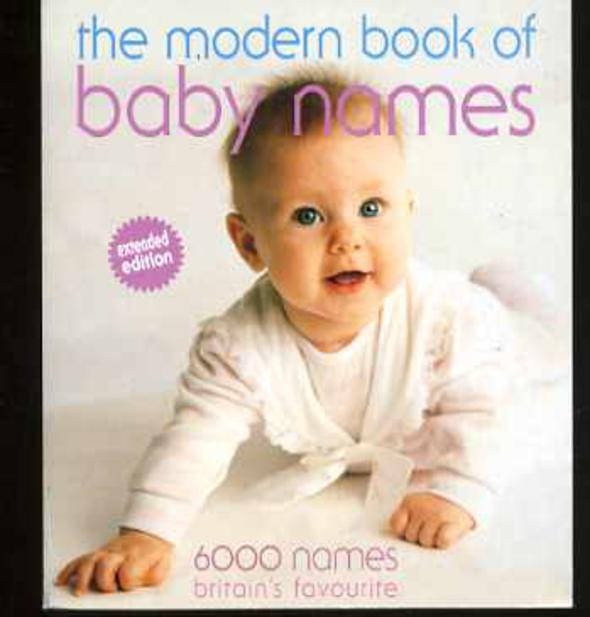 Image for The Modern Book of Babies' Names