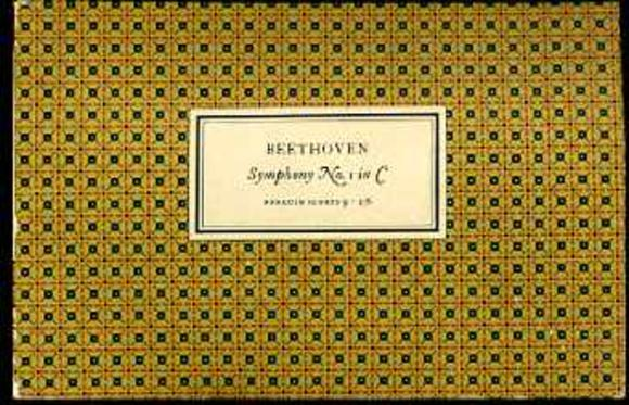 Image for Beethoven Symphony No. 1 in C Op. 21