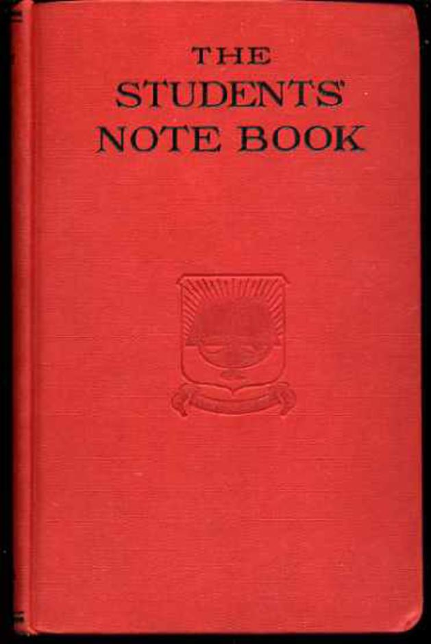 Image for The Students' Note Book