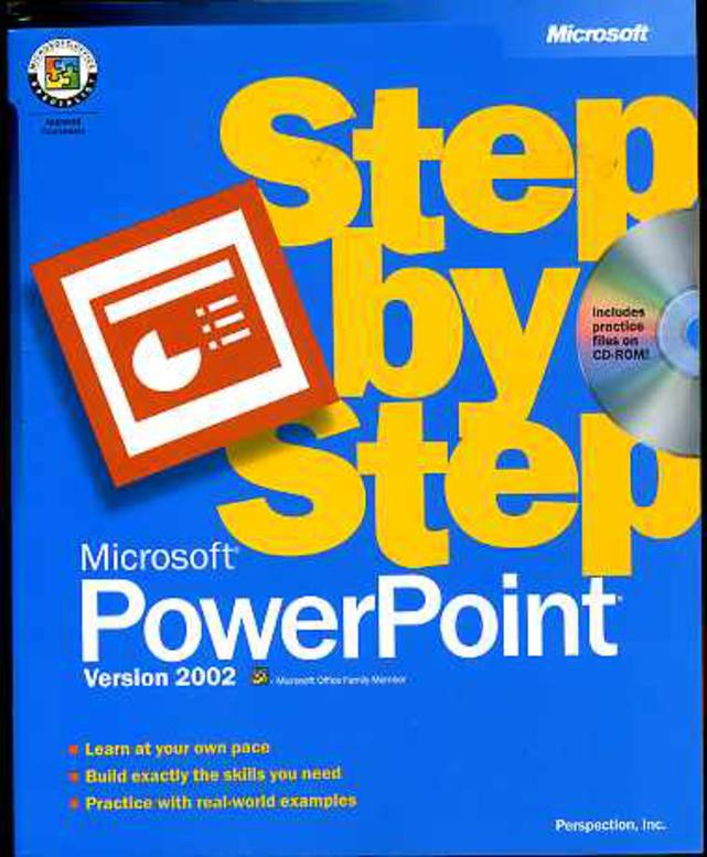 Image for PowerPoint 2002 Step by Step