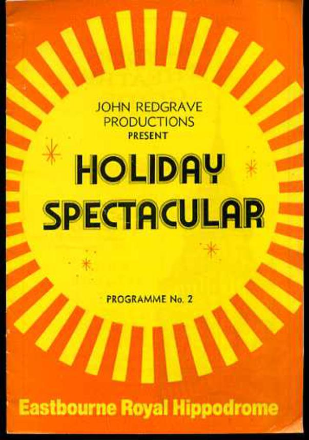 Image for Theatre Programme - John Redgrave Productions Present Holiday Spectacular Progamme No. 2.