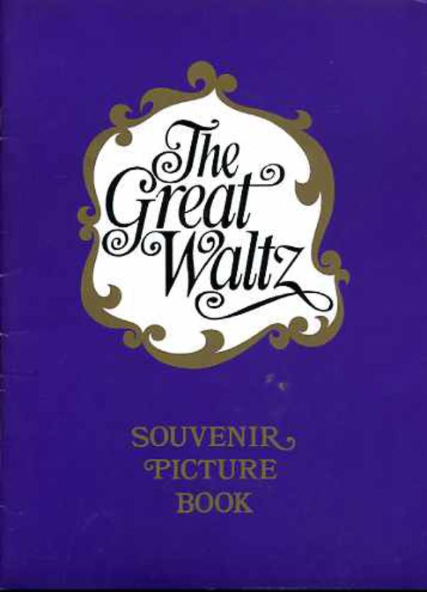 Image for Theatre Programme and Souvenir Picture Book for The Great Waltz