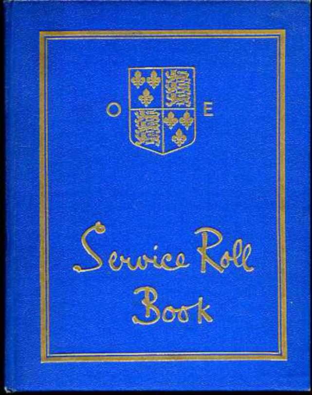 Image for Mansfield O.E. Service Roll Book