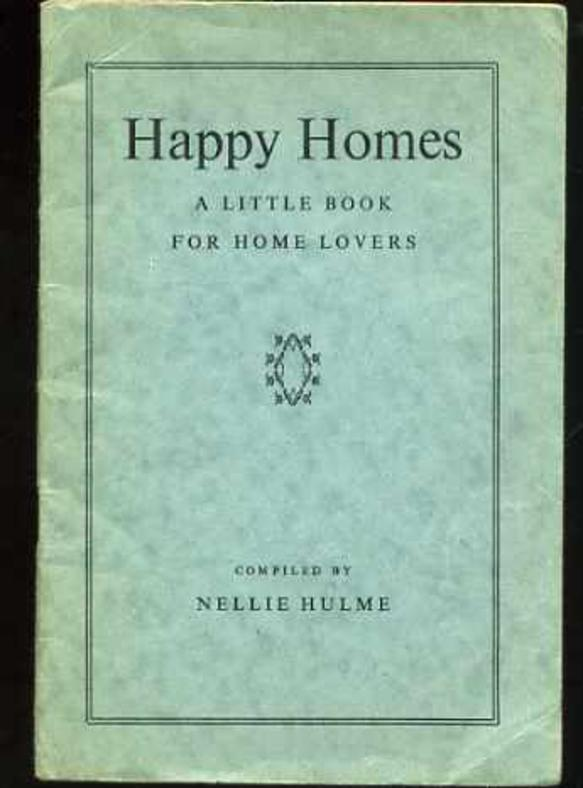 Image for Happy Homes : a Little Book for Home Lovers