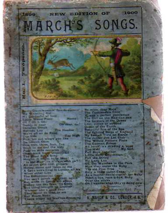 Image for March's Songs - New Edition of 1899-1900 - No 1