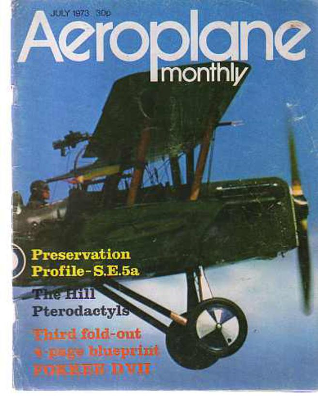 Image for Aeroplane Monthly  Volume 1 Number 3 July 1973