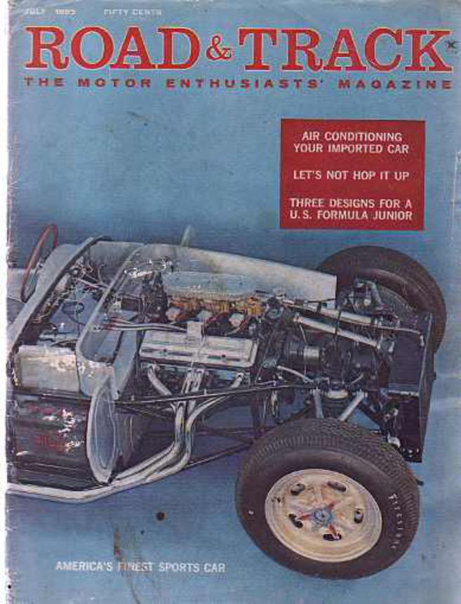 Image for Road & Track The Motor Enthusiasts' Magazine July 1959 Volume 10, No 11