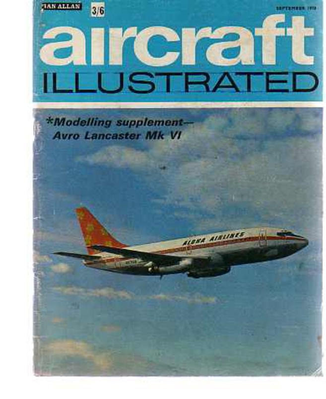 Image for Aircraft Illustrated September 1970  Vol 3 No 9