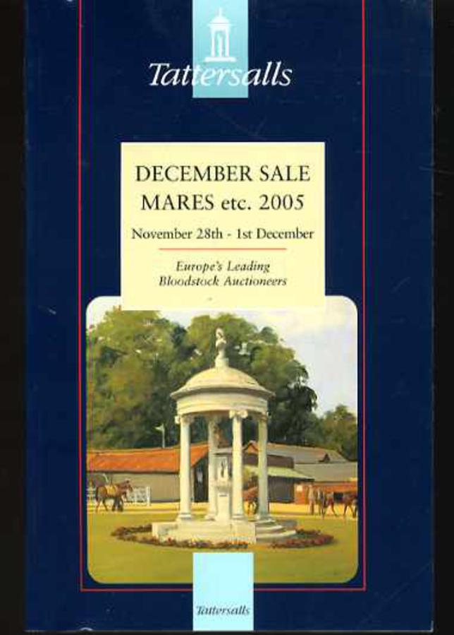 Image for Tattersalls December Mare Sale 2005