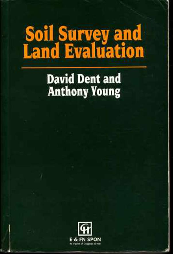 Image for Soil Survey and Land Evaluation