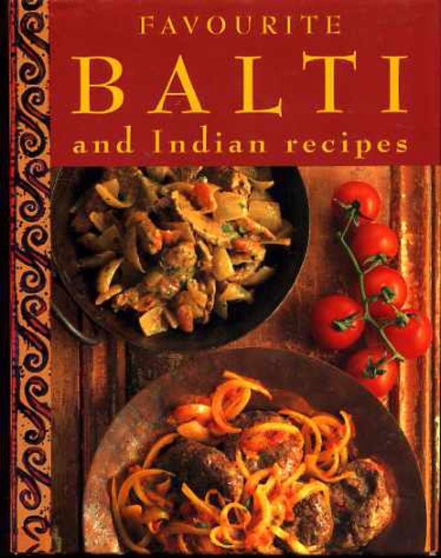 Image for Favourite Balti and Indian Recipes