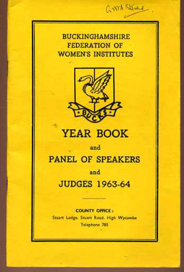 Image for Year Book and Panel of Speakers and Judges 1963-64