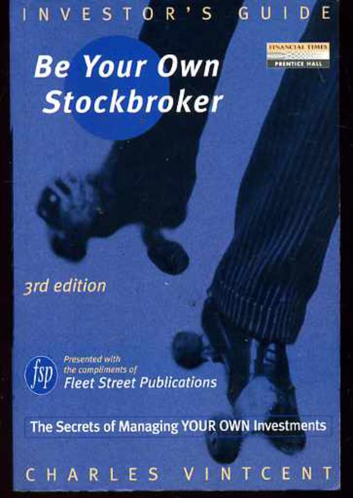 Image for Investor's Guide : Be Your Own Stockbroker