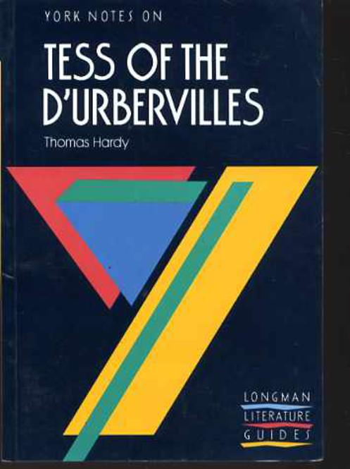 "Image for York Notes on Thomas Hardy's ""Tess of the D'Urbervilles"""