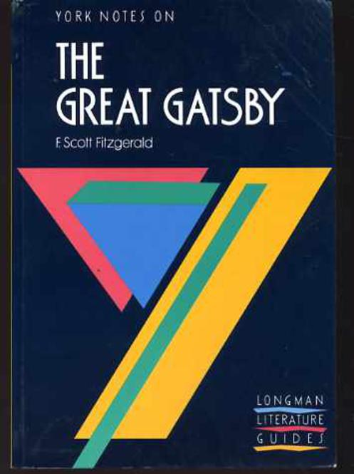 """Image for York Notes on F.Scott Fitzgerald's """"Great Gatsby"""""""