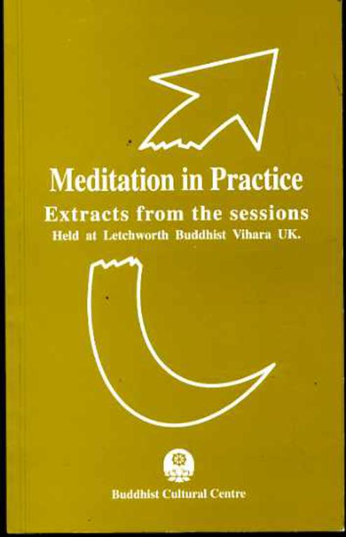 Image for Meditation in Practice - Extracts from the