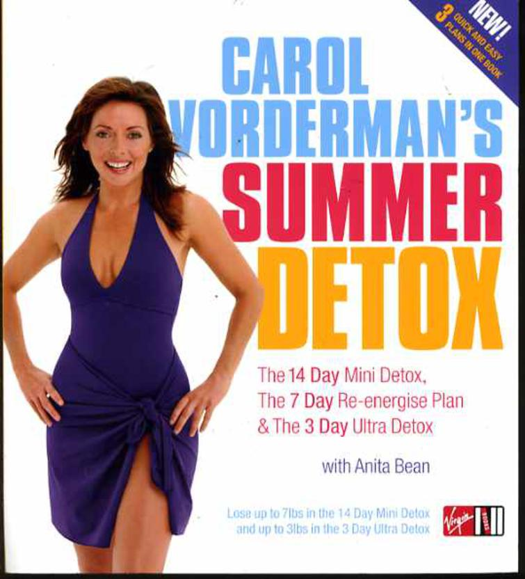 Image for Carol Vorderman's Summer Detox