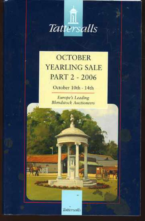 Image for Tattersalls October Yearling Sale Parts 1,2 & 3 - 2006